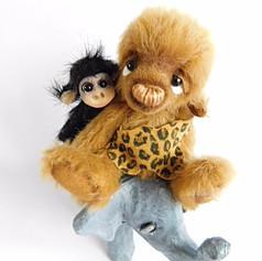 Tarzan and Cheetah