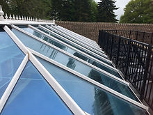 Glass Conservatory Roof After Window Cleaner