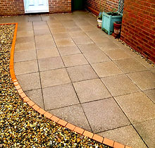 After Patio Cleaning Thetford Soft Washing