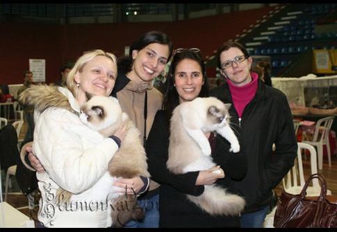 Eu, Andreia, Lucia e Danubia