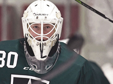 Mustangs add another goalie, just in time for camp
