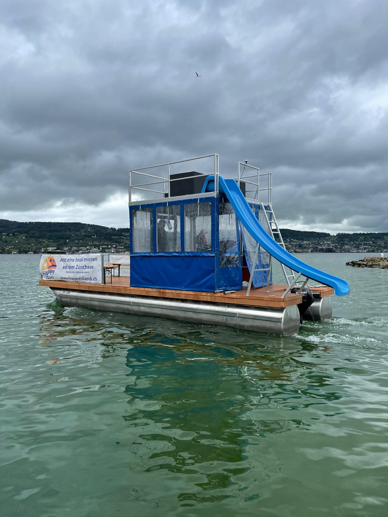 Tagesmiete Happy Island Boot Weekend
