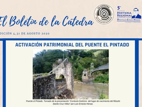 BOLETÍN DE LA CÁTEDRA, EDICIÓN 4