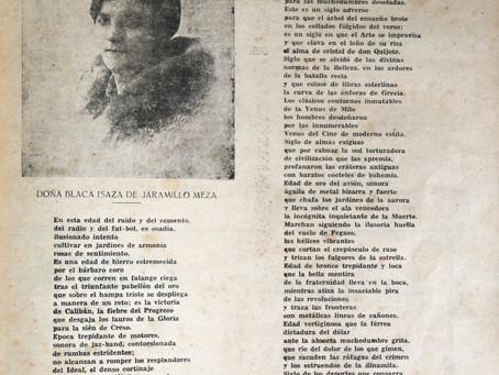 HABLANDO CON BLANCA