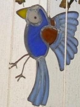 Pájaro Campana Azul