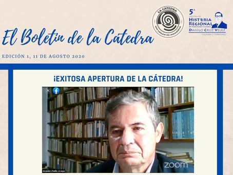 BOLETÍN DE LA CÁTEDRA, EDICIÓN 1