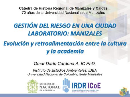 Cátedra de Historia Regional. Sesión 4