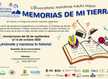 "CONVOCATORIA ""MEMORIAS DE MI TIERRA"""