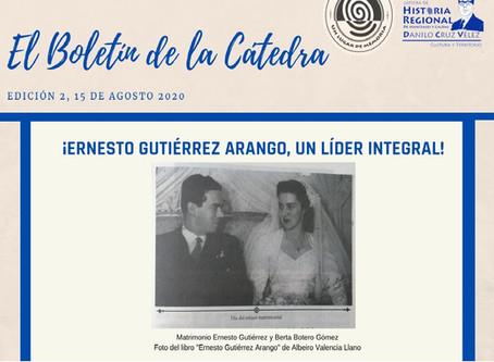 BOLETÍN DE LA CÁTEDRA, EDICIÓN 2