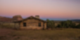 Cabin sunset Days Gone By r-0853.jpg