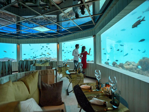 OZEN by ATMOSPHERE at MAADHOO - Get a Free Underwater Meal