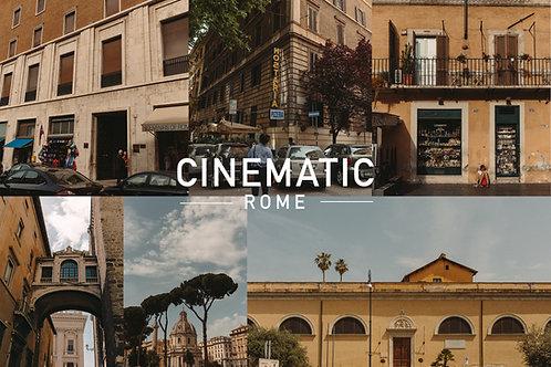 Cinematic Rome