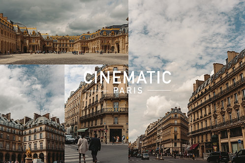 Cinematic Paris