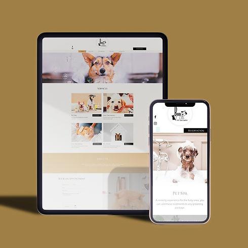 Boo Pet Groomers website