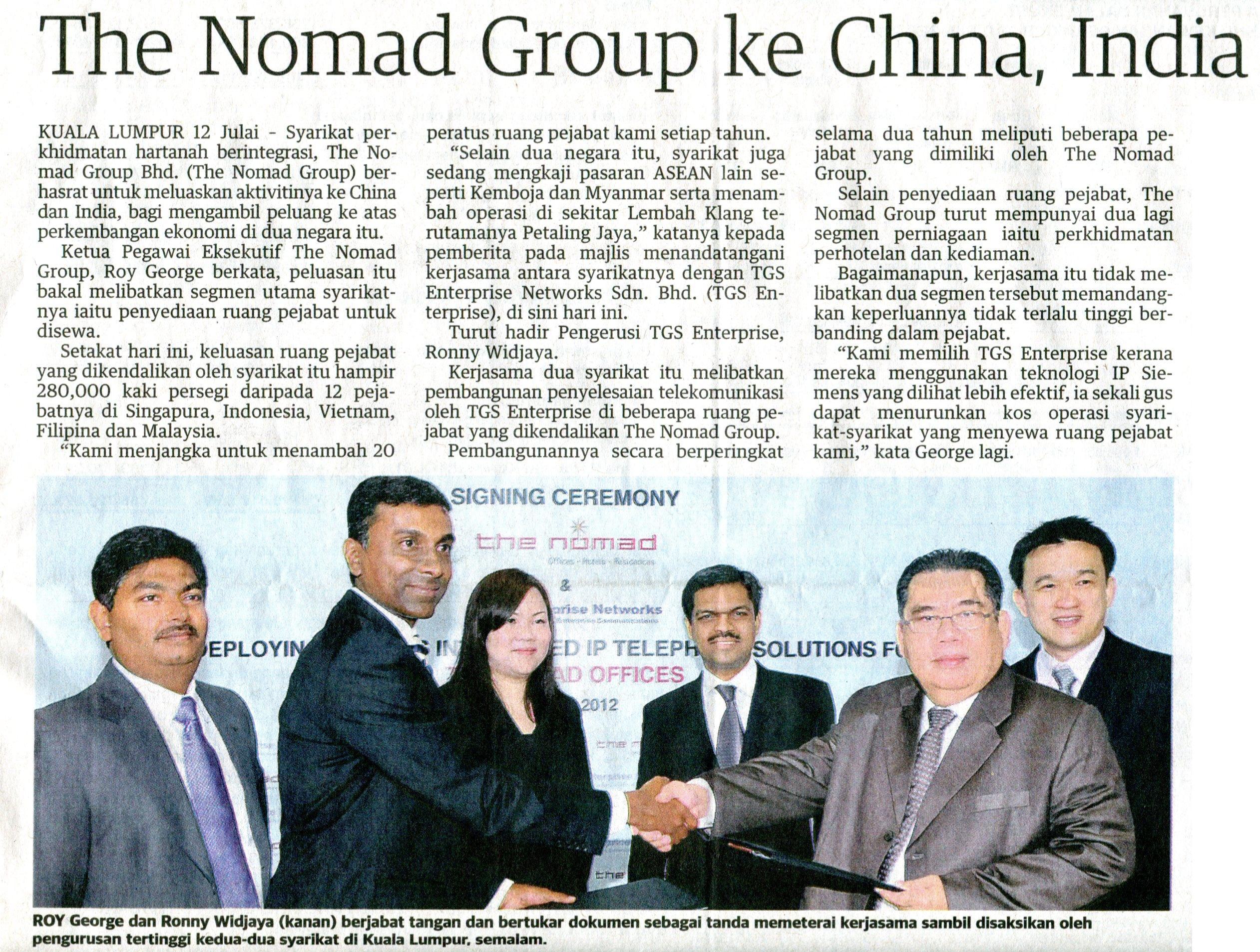 Utusan Malaysia (Business) 130712