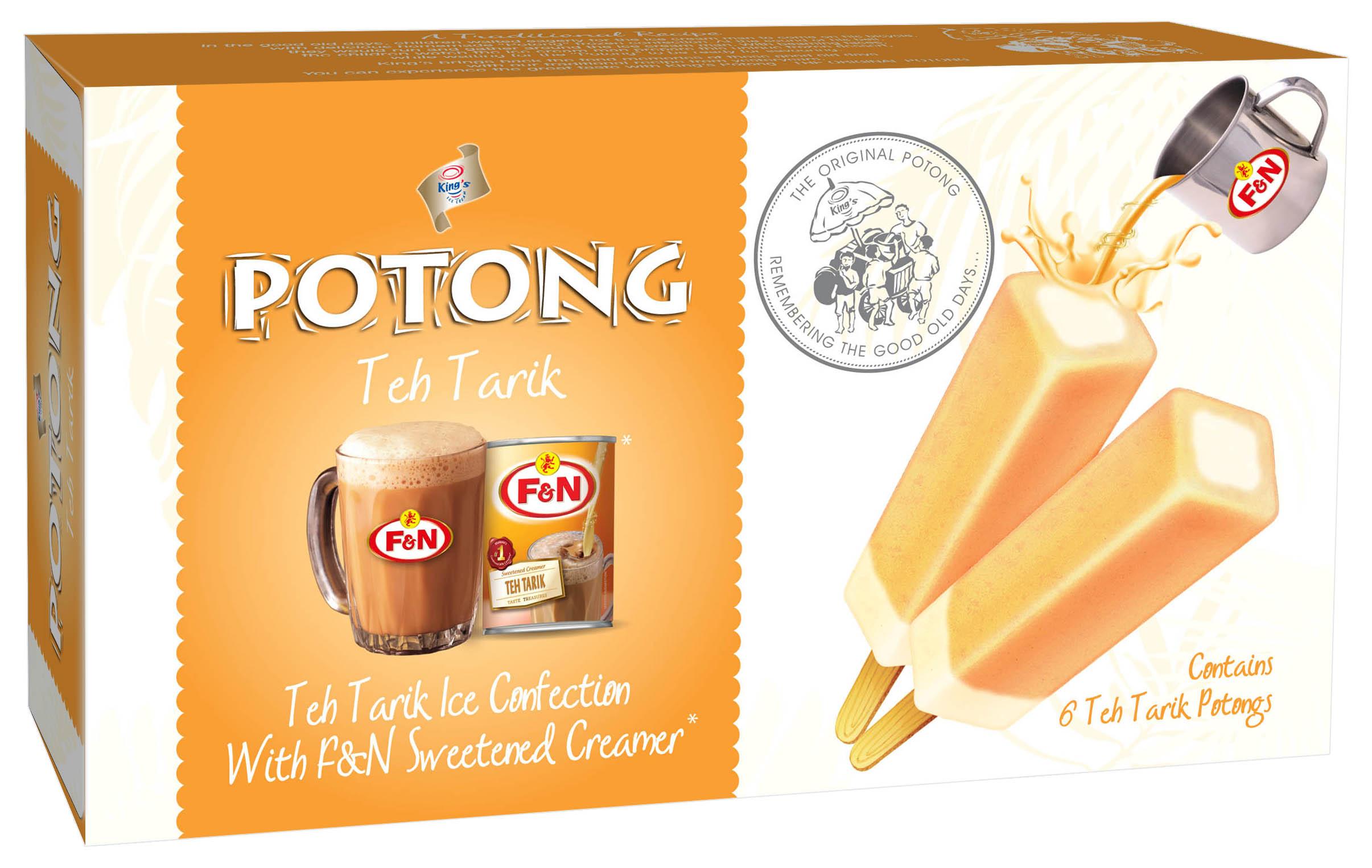 King's Potong Teh Tarik
