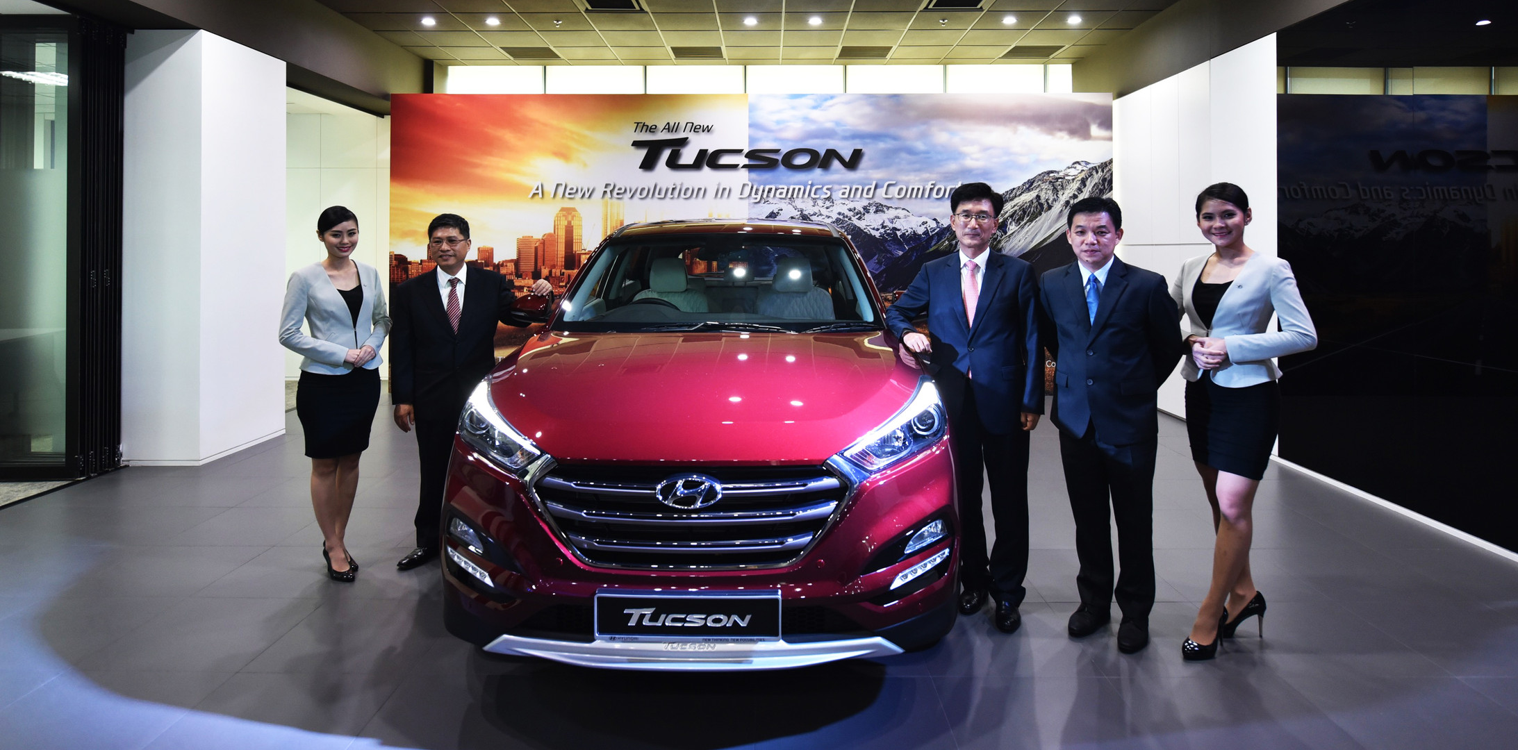 With the Newly Launched All-New Tucson a