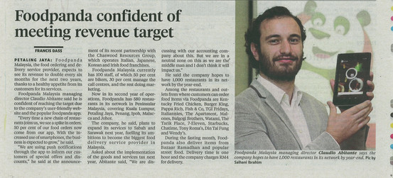 New Straits Times (Business Times) 09071