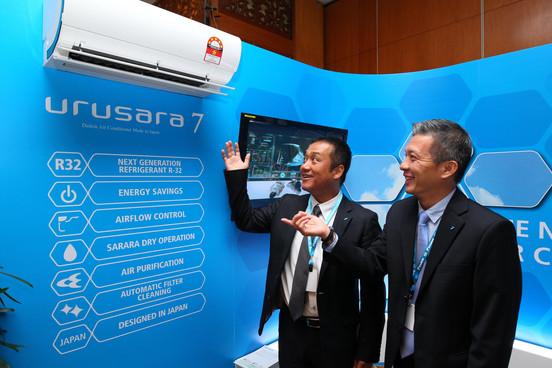 Mr Ryuta Hiramoto (left) and Mr Edwin Ch