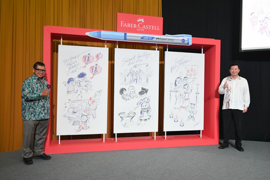 YB Datuk Mohammad Nor Khalid (Datuk LAT) with Mr. Andrew Woon.