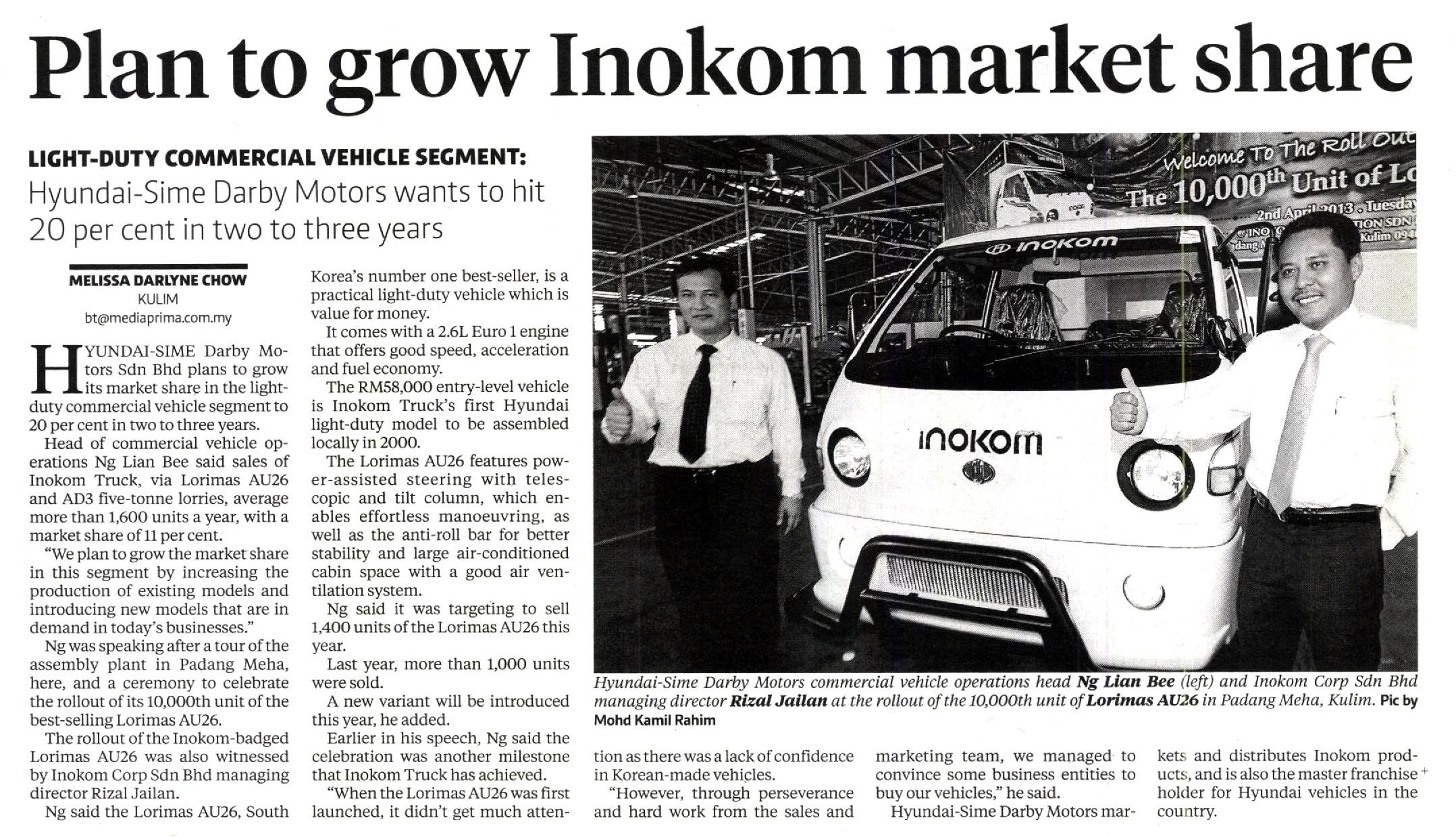 New Straits Times 030413