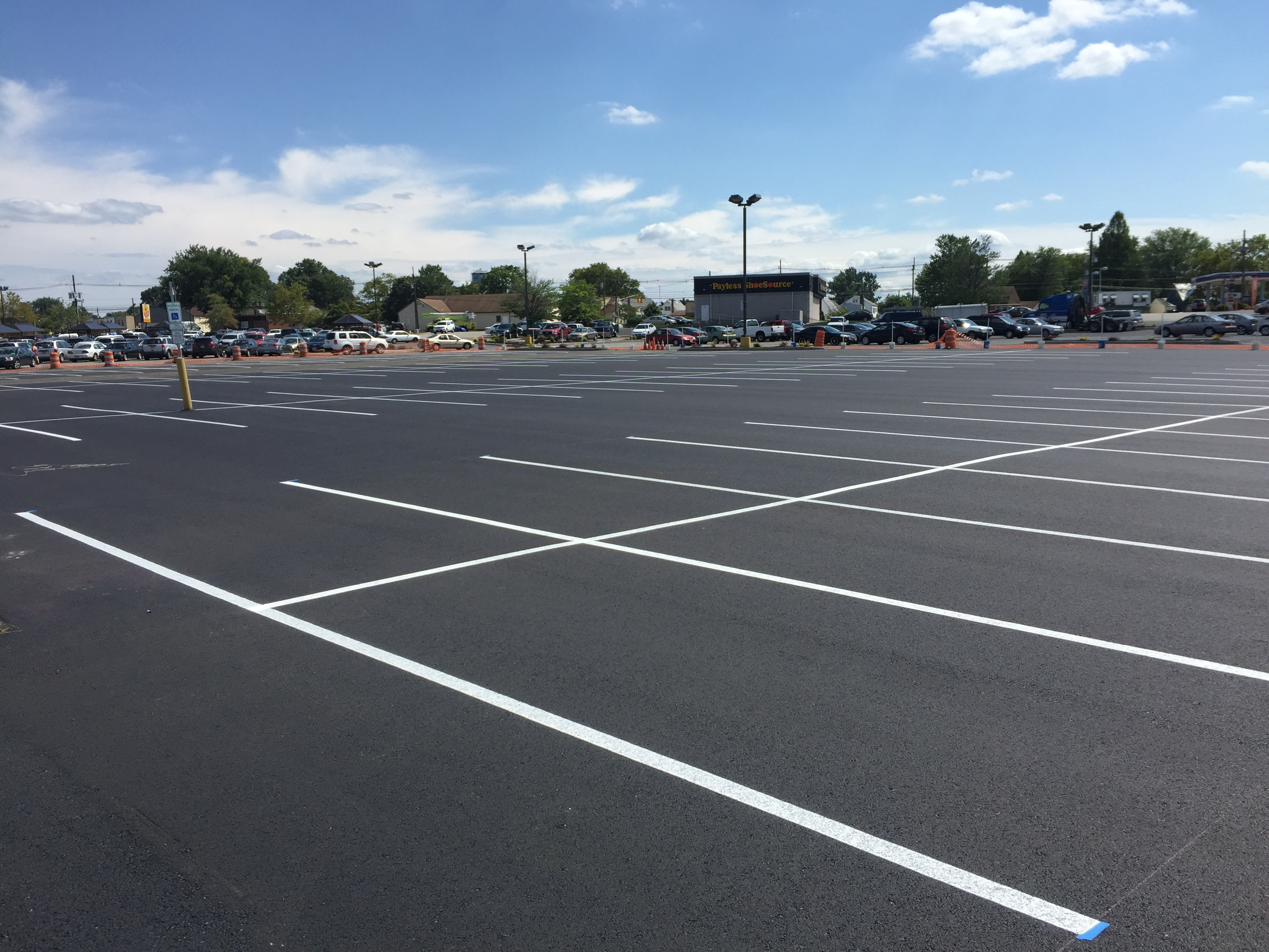 parking lot repair in cherry hill