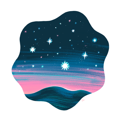 Colorful Sunsets & Starry Nights