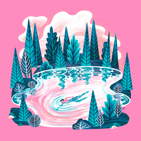 Swimming in Lakes