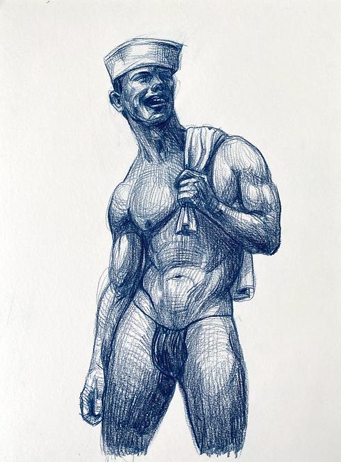 Standing Man 5