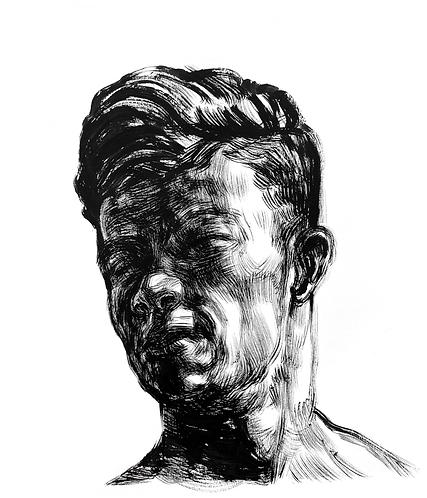 Handsome Faces 127 (Rough Brush Series)