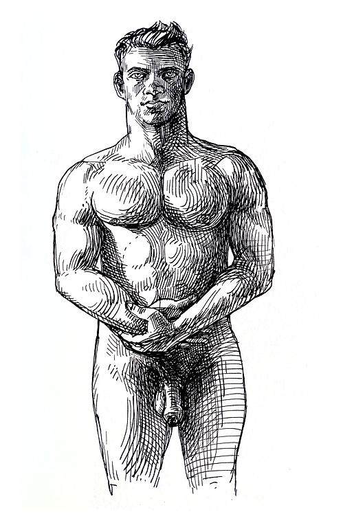 Standing Man 2