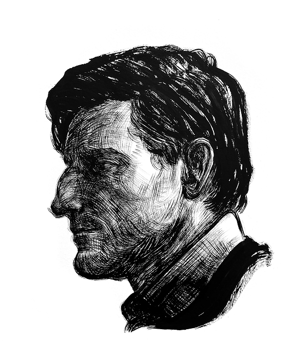 Handsome Faces 135 (Rough Brush Series)