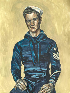 Sitting Man 2 (Sailor)