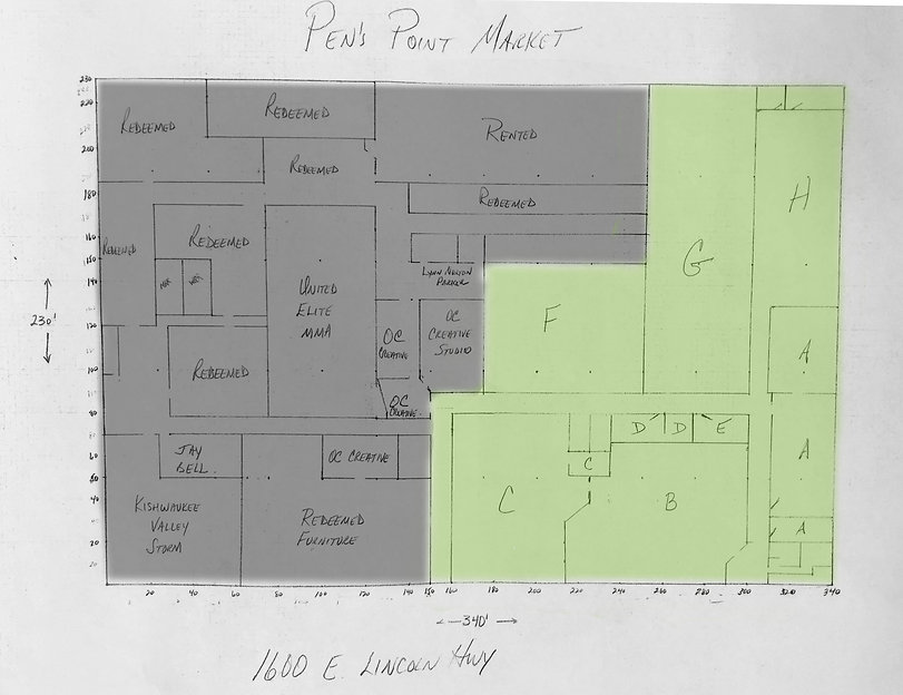 Pen's Point Market floorplan with available units