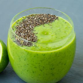 Green Ginger & Apple Smoothie | Vegan