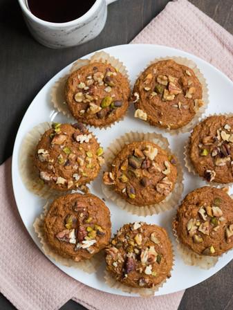 Pumpkin Spice Muffins - Vegan