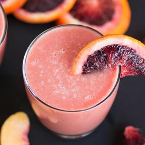 Key Lime, Blood Orange, & Peach Spring Mocktail