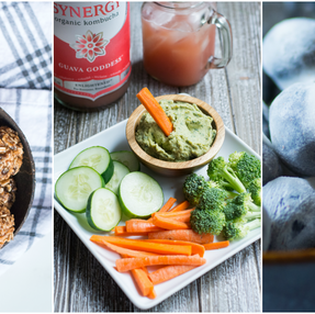 3 Healthy & Quick Vegan Snack Recipes for Lazy Days + VIDEO