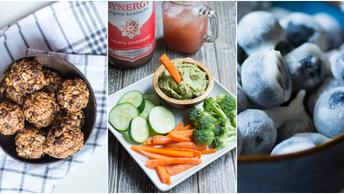 3 Healthy & Quick Vegan Snack Ideas