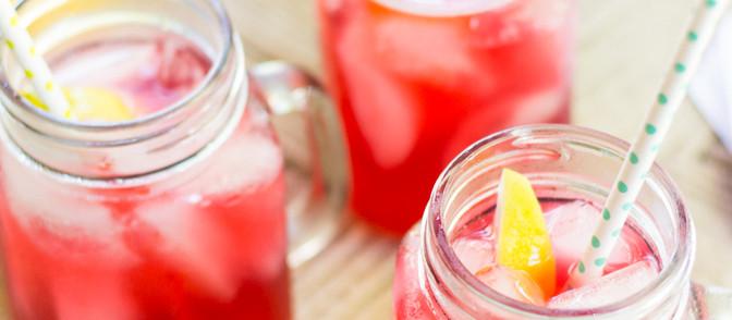 Hibiscus Lemonade Tea - Vegan + Non Alcoholic