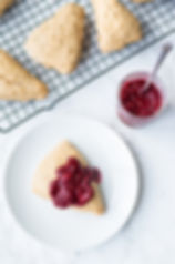 vegan-maple-scones-with-warm-raspberry-c