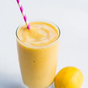 Immunity Boosting White Tea, Ginger, & Mango Smoothie Recipe
