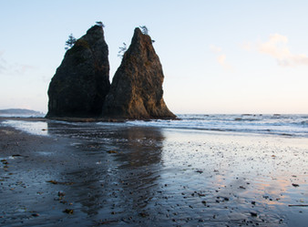 Washington State - Part 4: Ruby Beach, First Beach, & Rialto Beach