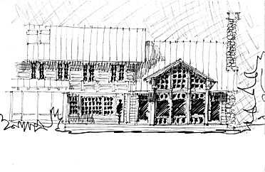 House plans for a New York retreat by New England architect Andrew Sidford