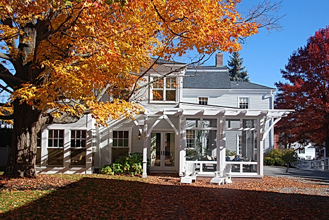 Historic renovation dream home by Newburyport based Andrew Sidford Architects