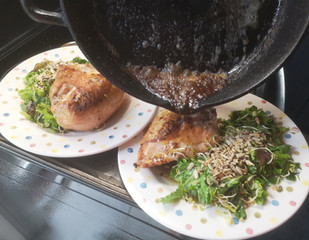 HOW TO SEAR & BAKE MEAT - a simple no-recipe method we use all the time!