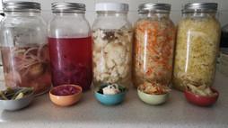 QUICK BRINE RECIPE - How to make homemade fermented veggies in your fridge!