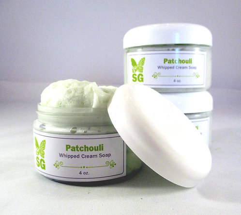 Patchouli Whipped Cream