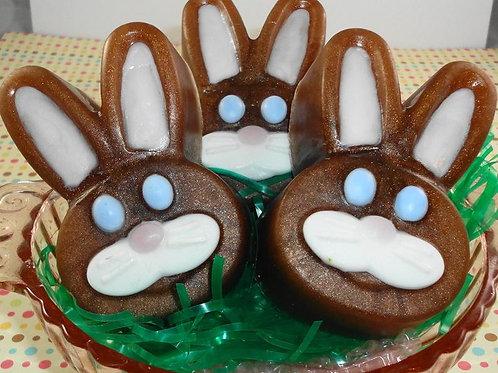 Chocolate Bunny Head