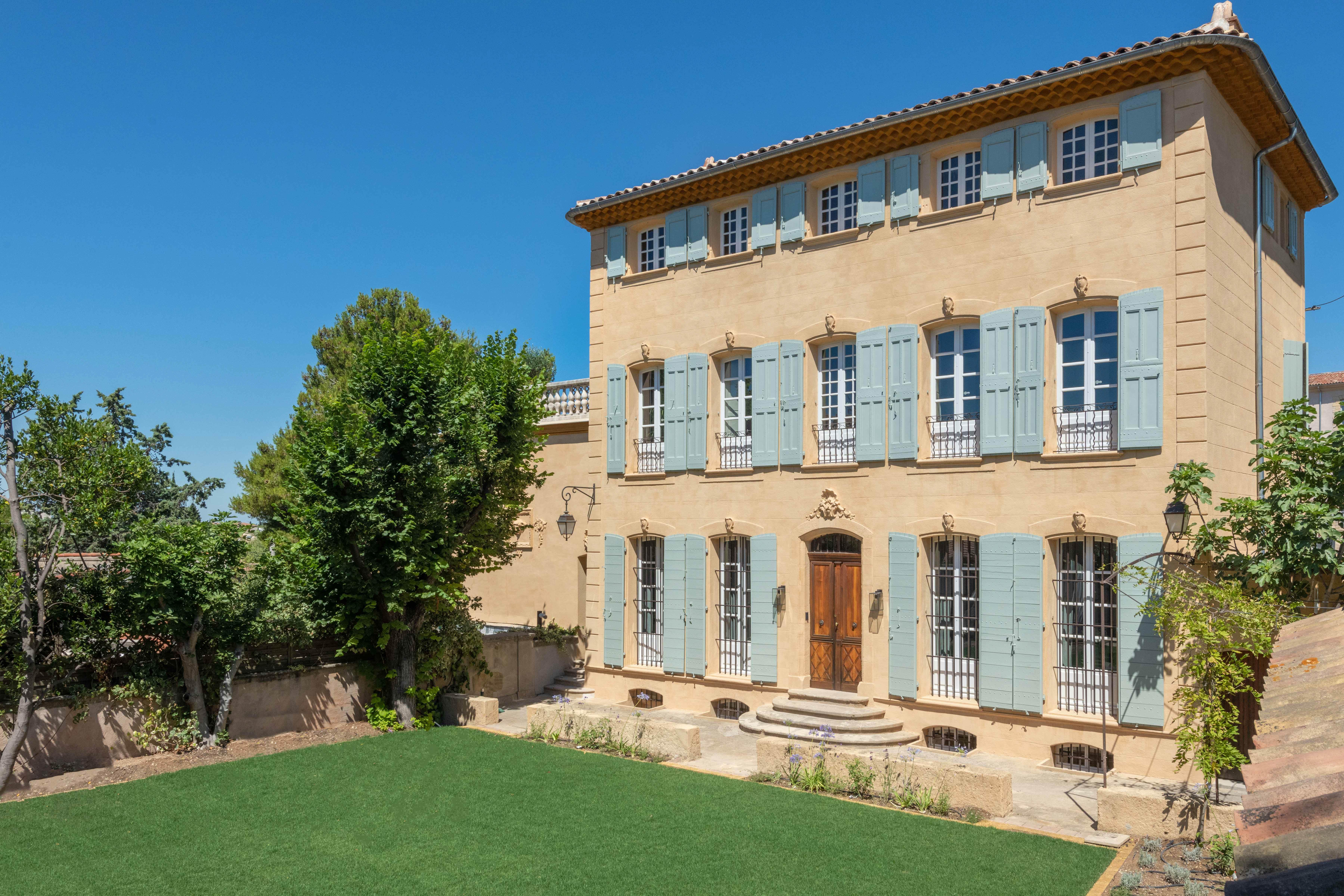Villa Acantha - Le jardin